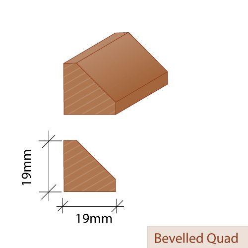 Bevelled Quad