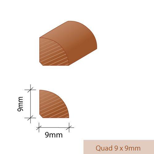 Quad-9-x-9mm
